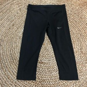 Nike crop Workout running tights XS fitness